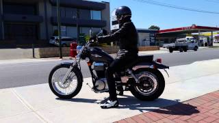 9. 2015 suzuki boulevard s40 first ride on a cruiser EVER