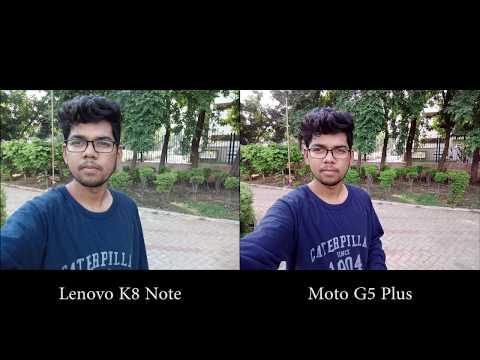 Lenovo K8 Note vs Moto G5 Plus Camera Comparison