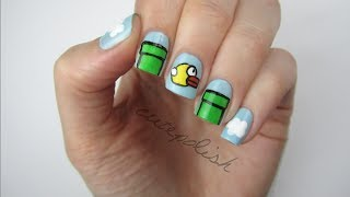 FLAPPY BIRD NAILS!!! - YouTube