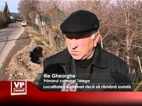 Localitatea Buştenari riscă să rămână izolată