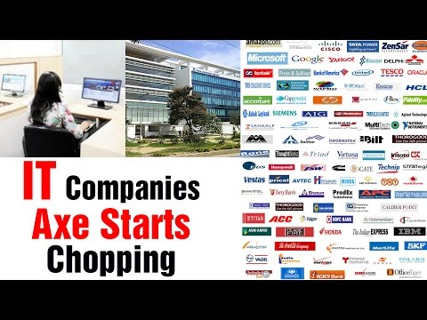 IT companies axe employees in India and World wide 29012015