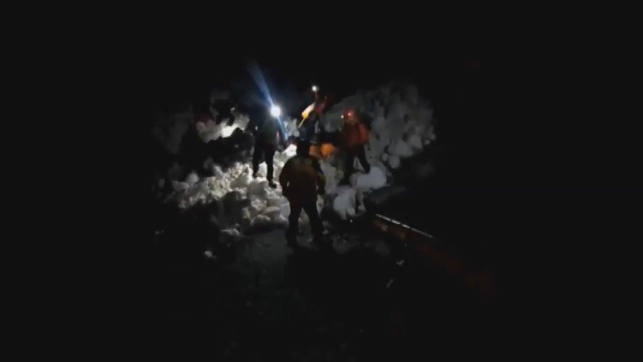 Επιχείρηση διάσωσης ορειβατών, στο Όρος Όλυμπος, του νομού Πιερίας