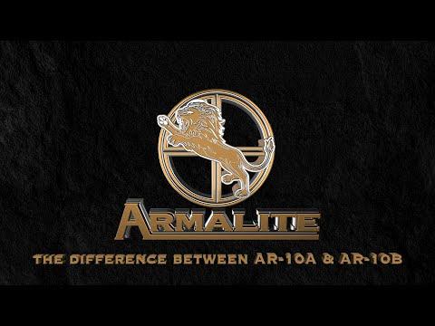 AR10A versus AR10B Armalite Rifle
