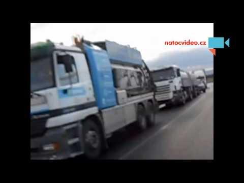 Dopravní nehoda Vysočany směr z Chomutova po pražské silnici číslo 7