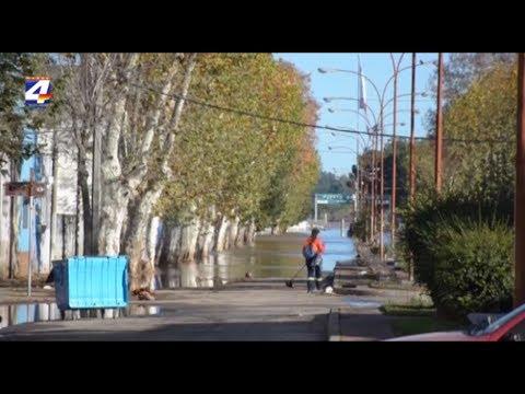 El río continúa descendiendo. Cecoed trabaja en el Plan retorno