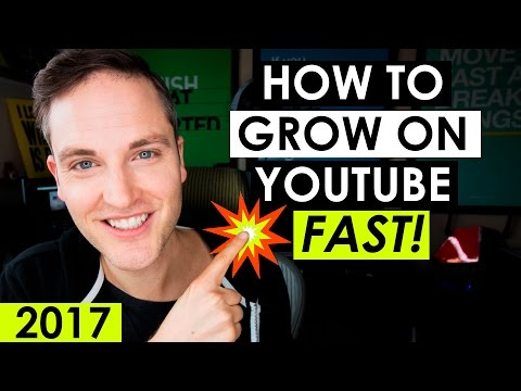 How to Grow Your YouTube Channel Fast 2017 — 5 YouTube Tips