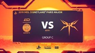 PSG.LGD vs Mineski, MDL Disneyland® Paris Major, bo3, game 1 [Lex & 4ce]