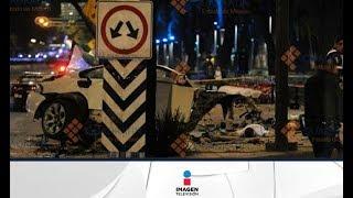 El trágico accidente del BMW sobre Paseo de la Reforma | Imagen Noticias con Francisco Zea