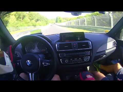 Nordschleife BMW M2, Mara Helmetcam II.