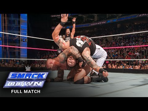 FULL MATCH - Randy Orton & Roman Reigns vs. Braun Strowman & Bray Wyatt: SmackDown, October 8, 2015