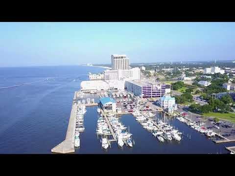 Biloxi MS Drone Footage