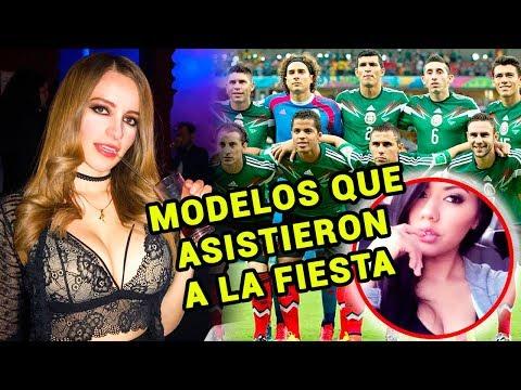 Fiesta Selección Mexicana: Estas fueron algunas de las mujeres que asistieron.