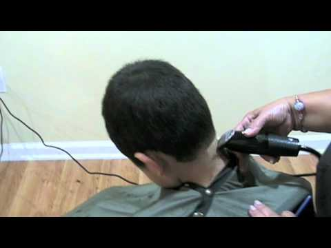 Machine Haircut step by step – Corte de cabello de hombre a maquina