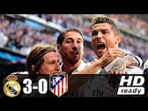 Real Madrid  Vs Atletico Madrid 3-0 /  All Goals  Highlights/  Resumen y Goles 02-05-2017 HD