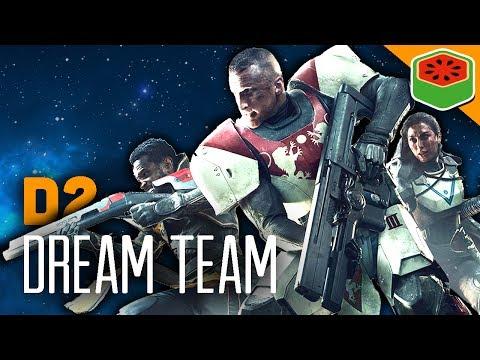 Destiny 2  - The Dream Team (Funny Moments)
