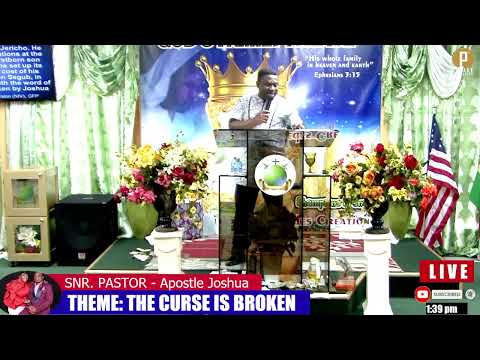 THE CURESE IS BROKEN *** BY: APOSTLE JOSHUA