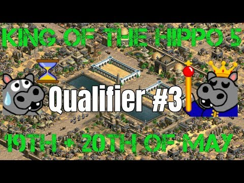 King of the Hippo 5 | Qualifier #3 - DauT, Timo, ACCM, (Edie) (видео)