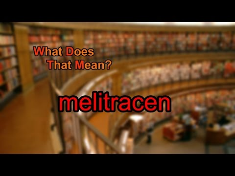 What does melitracen mean?