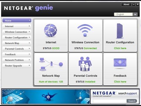 ضبط اعدادات راوتر نيت جير Netgear