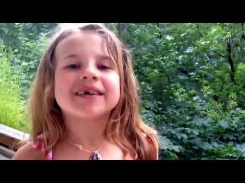 Ксюша и Алиса! Видео Привет Победителю конкурса! УРА! (видео)