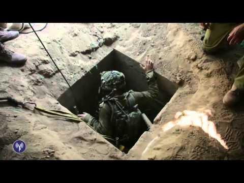 Un tunnel et des armes découverts à Gaza par la Brigade Parachutiste