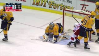 Gotta See It: Laviolette uses his bench monitor to challenge Wings goal by Sportsnet Canada