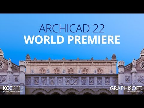 2018 ARCHICAD 22 World Premiere