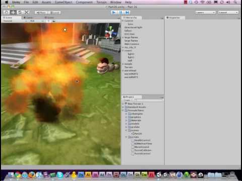 preview-#26 - Adding Explosions to your Game [Unity3d Tutorial] (TornadoTwins)