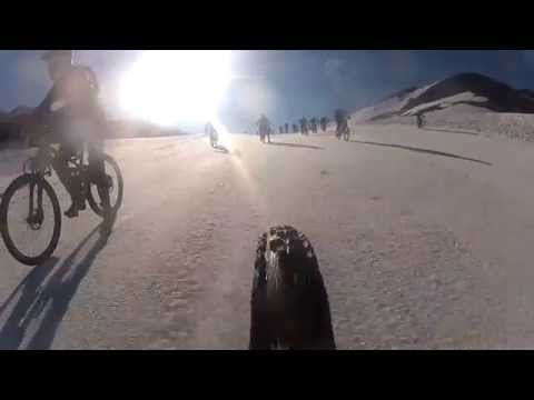 Mountain Of Hell Race 2013 extreme mountain biking top of Glacier 10,000ft