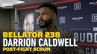 Bellator 238: Darrion Caldwell Predicts He'll Be Featherweight Champ in 2020 - MMA Fighting by MMA Fighting