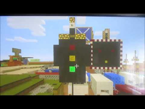 Minecraft Tutorials Season 1 Episode 2 How To Build The Traffic Lights And Pedestrian Crossing