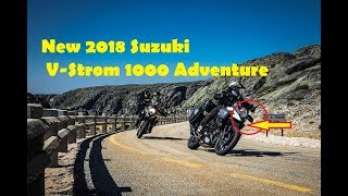9. 2018 Suzuki V Strom 1000 Adventure Motorcycles Its weakness and advantages