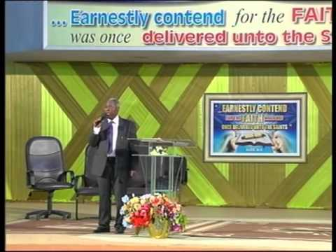 Pastor W.F. Kumuyi - The God That Cannot Fail  March 2013