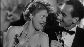 Georg Thomalla&Ilse Werner - Ausschnitte aus dem Film 'Königin einer Nacht' 1951