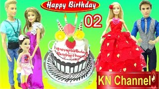 KN Channel tổ chức tiệc sinh nhật tháng 2 với đồ chơi trẻ em BIRTHDAY PARTY TOYS áo đầm búp bê xinh đẹp vàlàm 1 chiếc...