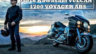 8. 2016 Kawasaki Vulcan 1700 Voyager ABS : The King of Kawasaki Cruisers