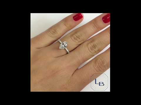 1.41 ct Marquise Diamond Engagement Ring