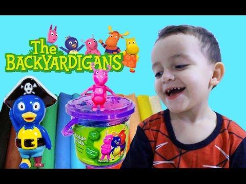 Backyardigans Massinha de Modelar Play-Doh Mini Balde da Diversão Sunny