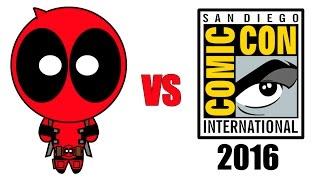 Deadpool vs Comic-Con 2016