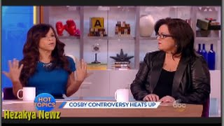 "Rosie O'Donnell INTIMIDATES Her ""VIEW"" Co-Hosts During HEATED Bill Cosby Debate!!"