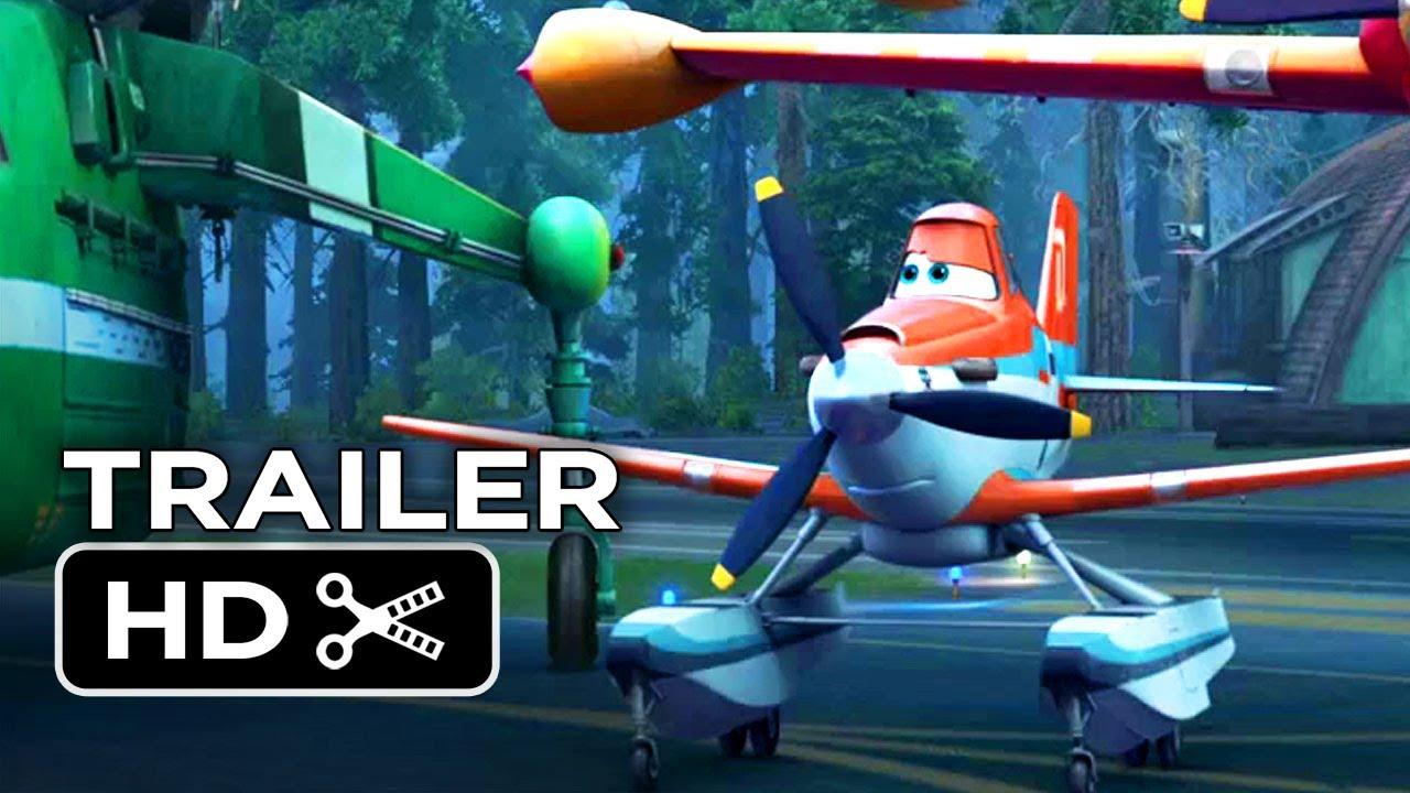 Movie Trailer:  Planes: Fire & Rescue (2014)