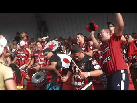 LA AKD desde la grada... Sporting 3 - Tauro 1 Agosto 17 de 2014 - Barra Academica - Sporting San Miguelito