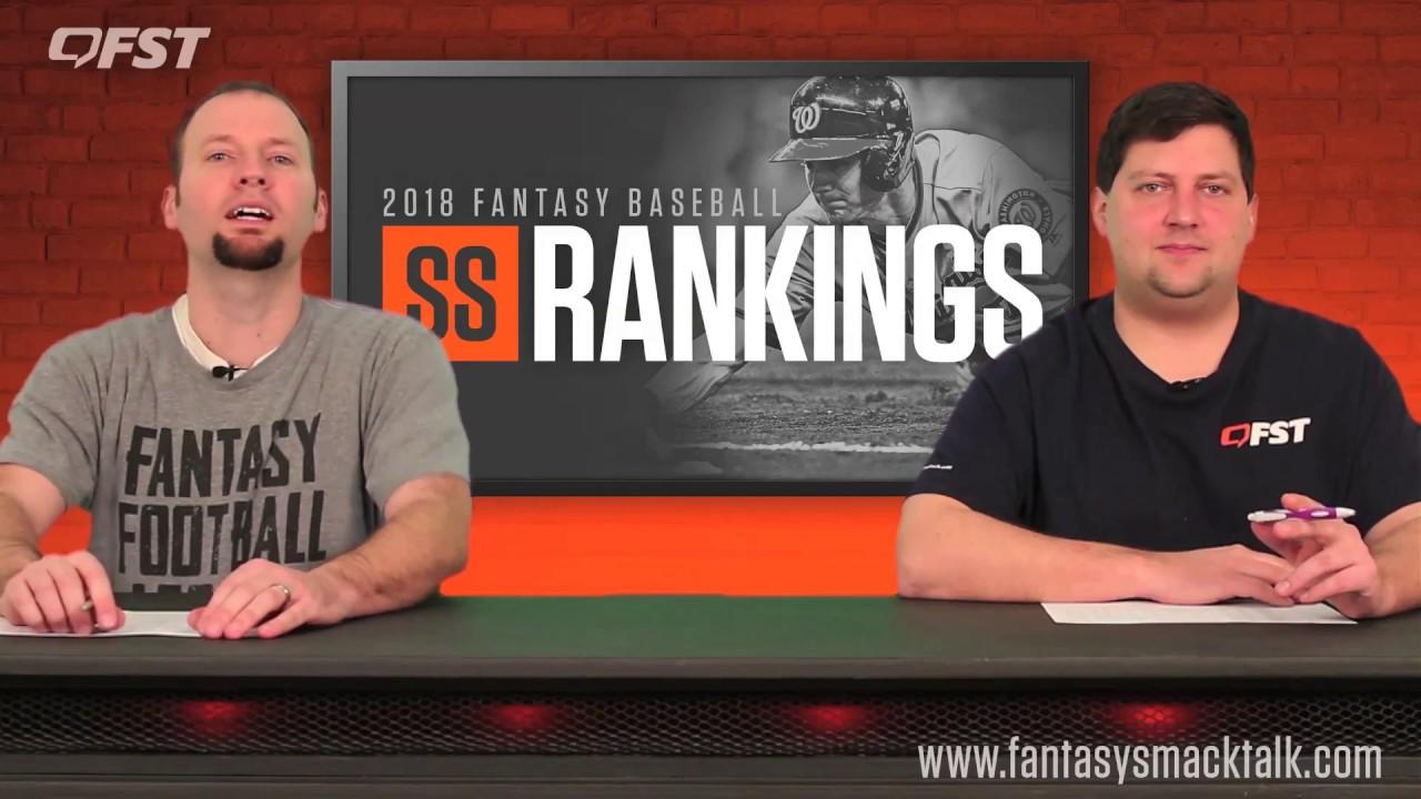 2018 Fantasy Baseball Shortstop Rankings thumbnail