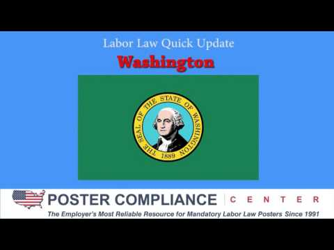 Washington Labor Law Poster Update