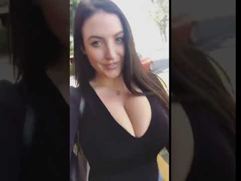 Angela White bouncing (видео)