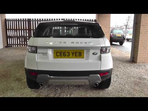 Land Rover Range Rover Evoque 5 Door Diesel 2013MY 2.2 SD4 Pure TECH Auto U8969