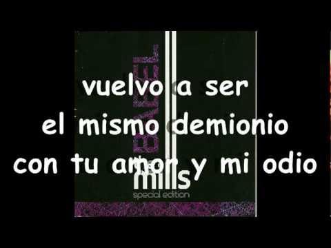 the mills - Un demonio (Letra) видео