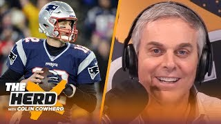 Colin Cowherd reacts to Tom Brady's interview with Howard Stern | NFL | THE HERD by Colin Cowherd