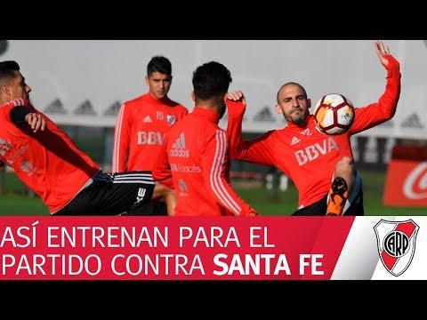 Así entrenan para visitar a Independiente Santa Fe