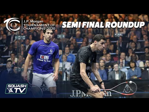 Squash: J.P. Morgan Tournament of Champions 2020 - Men's Semi Final Roundup